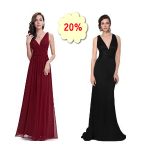 Save 20% off or more Women Wedding Bridesmaid Dresses