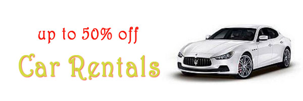 Car Rentals Coupons up to 50 percent off