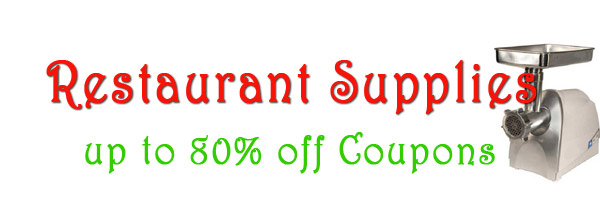 up to 80% of -restaurant supplies